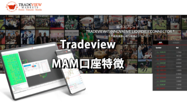 MAMとは?TradeviewのMAMの特徴解説